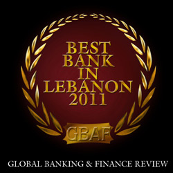 """Global Banking and Finance Review names BLOM BANK S.A.L. as """"Best Bank in Lebanon 2011"""""""