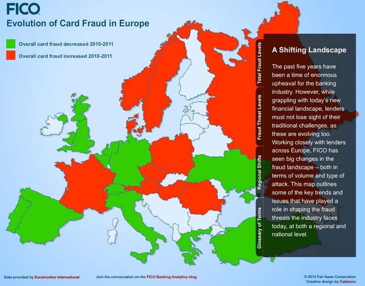 fraud map bankin europe