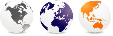 3 Globes