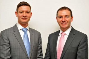 Duncan Sanders, Operations Director and Franc Jeffrey, CEO of Equilibrium Travel Management