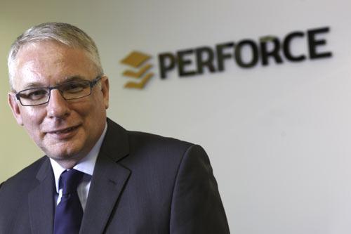 Mark Warren Perforce Logo
