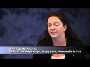 Bridges Insights 2013: Jennifer McFarland Senior Accounting Manager, Supply Chain, Abercrombie Fitch