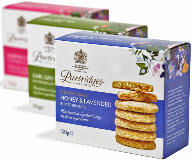 Partridges CF biscuits