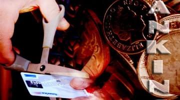banking cut card