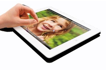 iPad wRet Pinch