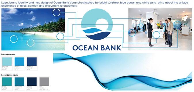 oceanbank brand identity