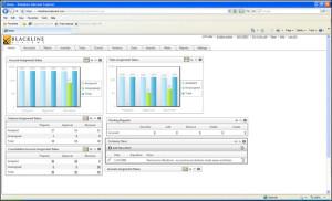 BlackLine System Admin Screen