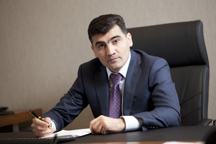 The Chairman of the Supervisory Board of Bank Technique, Rovshan Ismayilov,