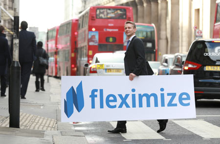 Max Chmyshuk, Fleximize (c) Matt Alexander/PA