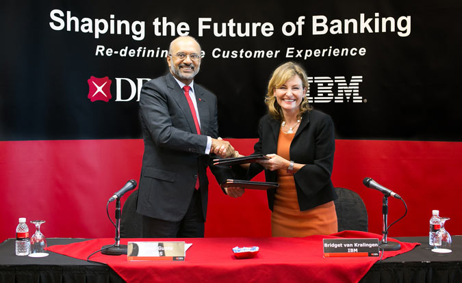 Dbs bank engages ibm's watson to achieve next generation client experience