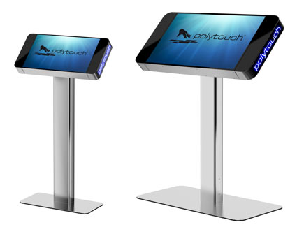 Pyramid equips polytouch terminals with switchable privacy at ise 2014