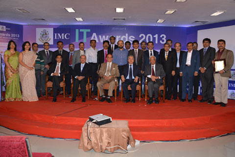 AEGIS Honored With Excellence In BPO / ITES By Indian Merchants Chambers