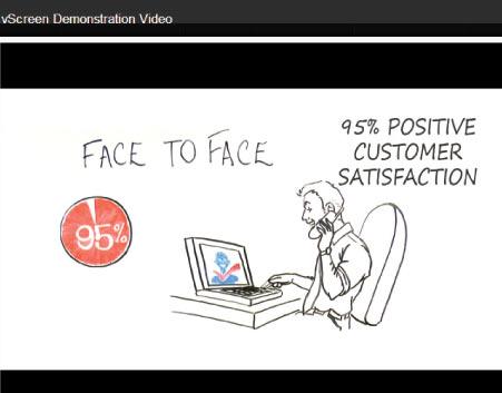 vScreen demonstration video