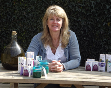 Amanda Barlow, Managing Director And Owner Of Spiezia Organics, A 100% Organic Skincare Company