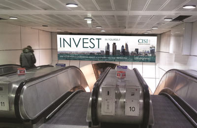 """CISI ANNOUNCES NEW UK """"INVEST IN YOURSELF"""" ADVERTISING CAMPAIGN 4"""