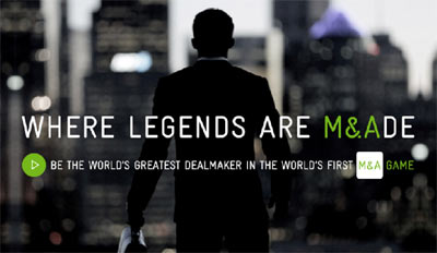 COME & PLAY THE WORLD'S FIRST M&A GAME - NOW ON ANDROID