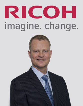 Carsten Bruhn, Executive Vice President, Ricoh Europe