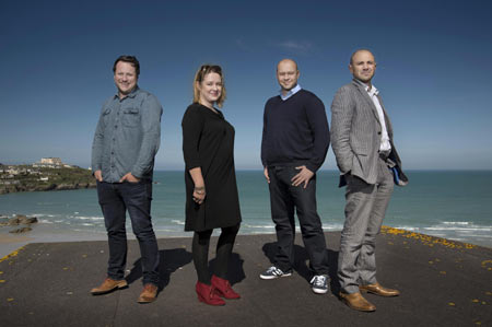 Crowdfunder Directors: Simon Deverell, Dawn Bebe, Phil Geraghty and Rob Love.