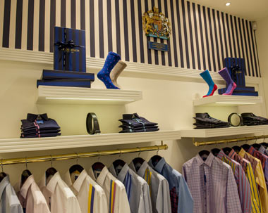 HRH QUEEN ELISABETH II OUTFITTERS, GROSVENOR SHIRTS PURCHASES EUROSTOP'S RETAIL SYSTEMS 1