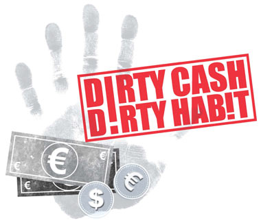 EUROPEANS Struggle To Break The Dirty Cash Habit