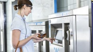 Wearable Eye Tracking Ticket Machine Tobii