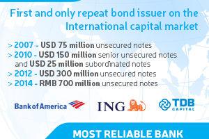 TRADE AND DEVELOPMENT BANK TDB