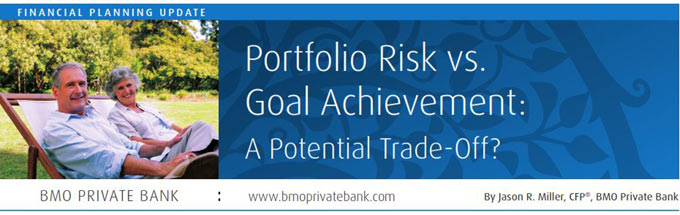 Portfolio risk and goal achievement