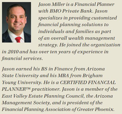 Jason Miller is a Financial Planner with BMO Private Bank