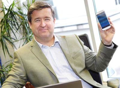 Paul Prendergast, CEO, Inhance Technology. Photo courtesy of Irish Examiner