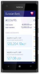 EURASIAN BANK LAUNCHES NEW MOBILE BANKING SERVICES WITH MONITISE CREATE 1