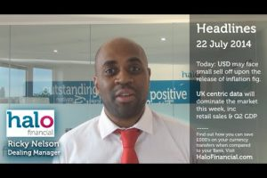 YOUR DAILY CURRENCY UPDATE (22/7) - UK RETAIL SALES & Q2 GDP IS EAGERLY ANTICIPATED 1
