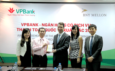 VPBANK To Receive 4 Prestigious International Awards