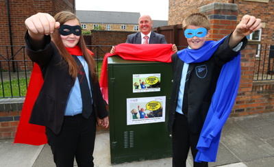 SUPERFAST BROADBAND ZOOMING IN AS GO DIGITAL NEWCASTLE UNVEILS ITS FIRST FIBRE CABINET 2
