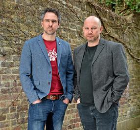 Luke Lang and Darren Westlake
