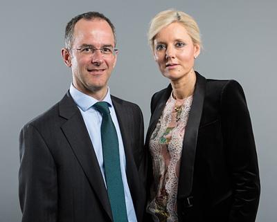 Rob Mason and Becky Stones