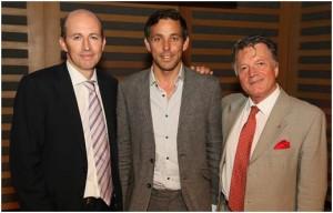 left to right: Peter Leathem (PPL CEO), Ben Lambert, Fran Nevrkla (PPL Chairman)