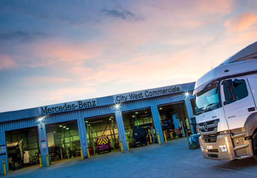 City West Commercials, Avonmouth