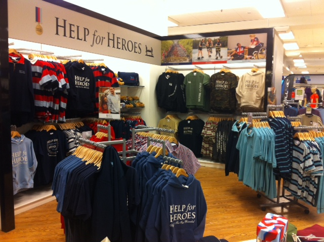 HELP FOR HEROES TRADING GROWS WITH EUROSTOP E-RMIS 1