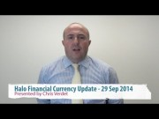 YOUR DAILY CURRENCY UPDATE - PRESENTED BY HALO FINANCIAL'S CHRIS VERDET