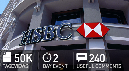 HSBC USES ITS FIRST POWERVOTE MOBILE EVENT APP FOR AN INTERNAL CONFERENCE 6