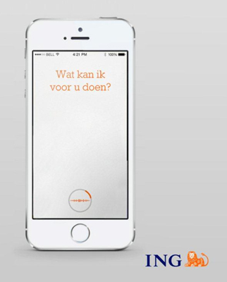 ING Introduces A Voice-Controlled Mobile Banking App Powered By Nuance