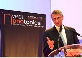 Invest in Photonics Chairman Giorgio Anania