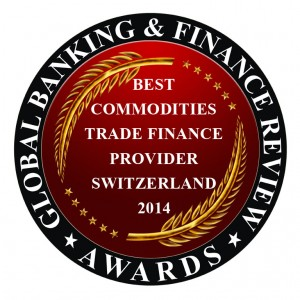 SCCF Structured Commodity & Corporate Finance - Best Commodities Trade Finance Provider Switzerland 2014