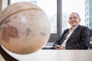 Michael Chai, CEO of Blackwell Global
