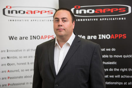 Andy Bird CEO of Inoapps