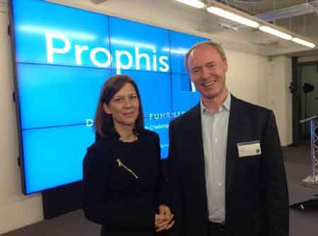 Dorothee Furhmann, Executive Director Prophis  and Charles Pardue, CEO Prophis
