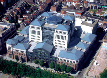 KBC Official Head Office Brussels