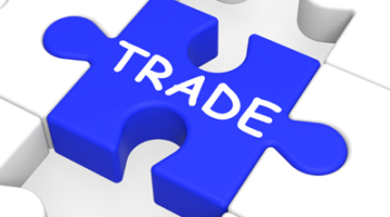 trade puzzle shows exportation and importation
