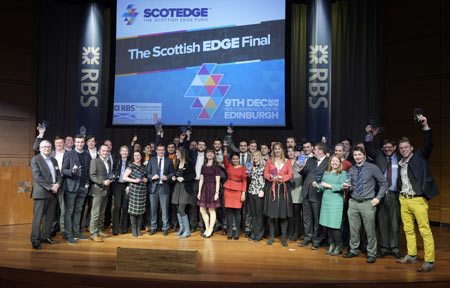£852,000 Awarded To Innovative Scottish Start-Ups At Scotedge Awards