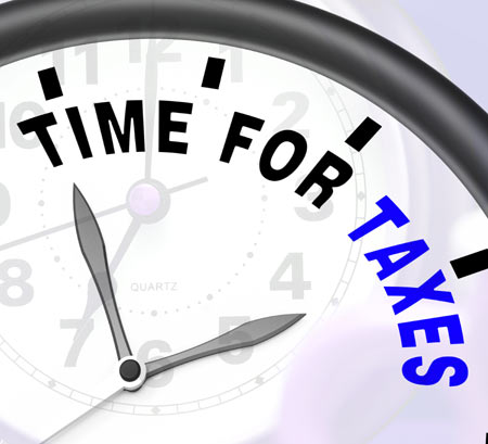 time-for-taxes-message-show
